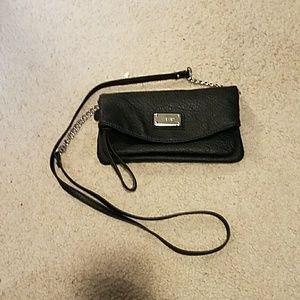LIKE NEW Black cross body purse bag Nine West